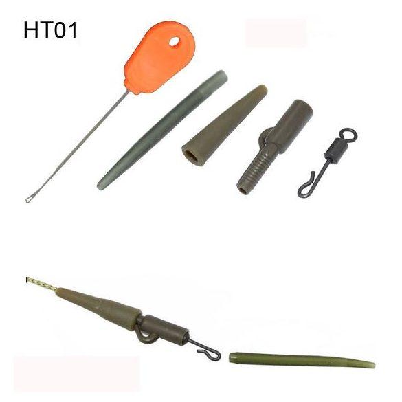 HIRISI 121 db-os pontyhorgász végszerelék szett fűzőtűvel