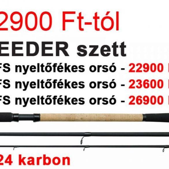 D.A.M SENSOMAX FEEDER BOT 3,6M 125-175 GR + QUICK 1 5000 FS ORSÓ