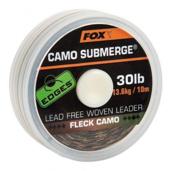 FOX SUBMERGE FLECK CAMO LEADER 10M 30LB