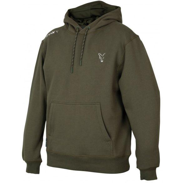 FOX Collection Green & Silver kapucnis pulóver