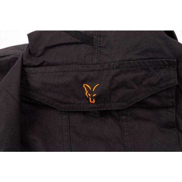 Fox Collection Black & Orange Combat Trousers nadrág