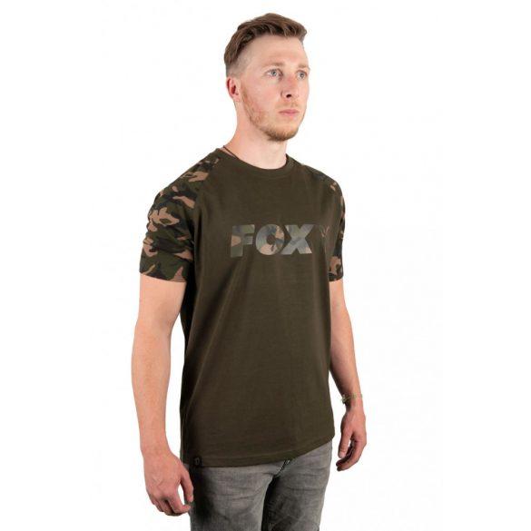 FOX Green Camo póló