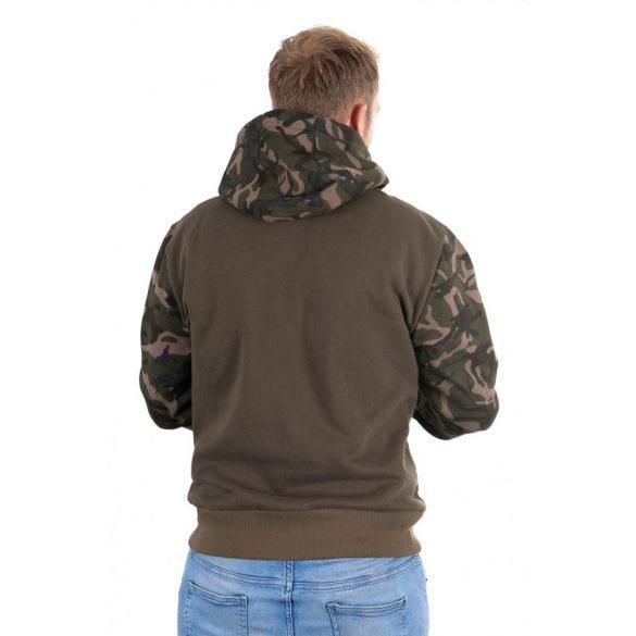 FOX Khaki Camo Hoody kapucnis pulóver