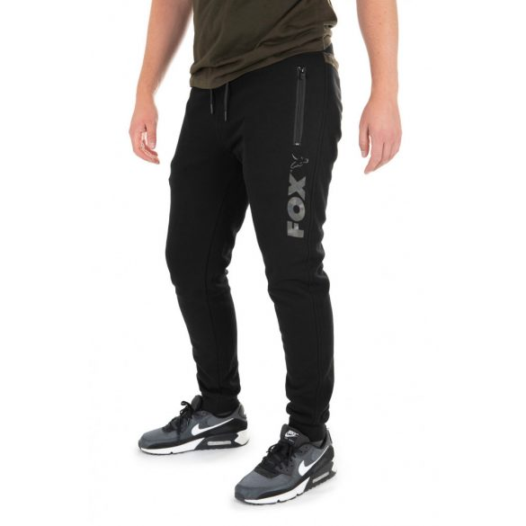 FOX Black Camo Print Joggers melegítő nadrág