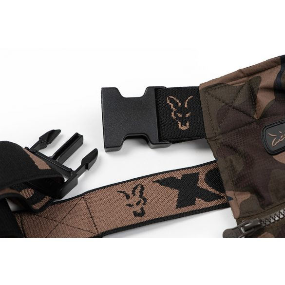 FOX Camo Khaki RS kantáros nadrág