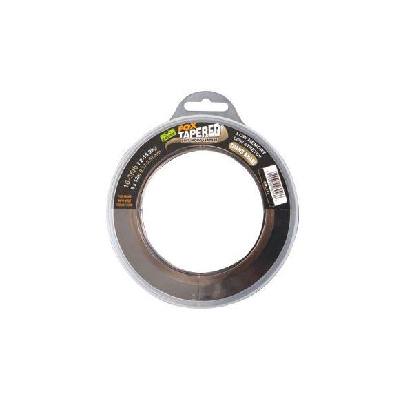 FOX Edges™ Soft Tapered Leader előtétzsinór 0,33 - 0,50 mm