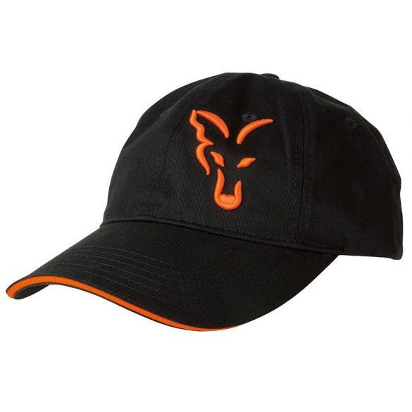 FOX Black&Orange Baseball sapka