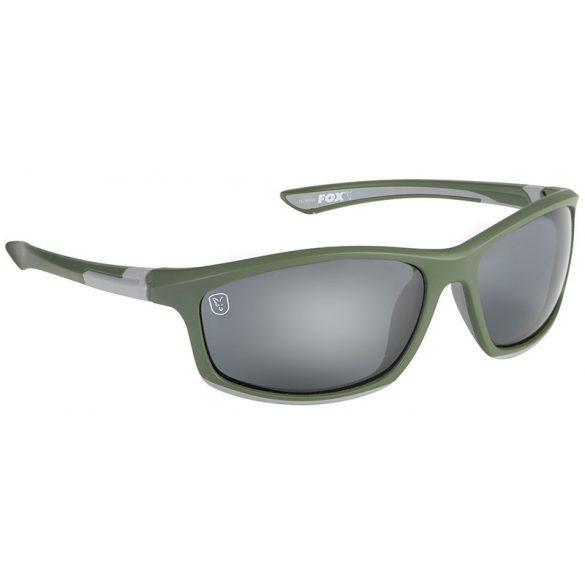 FOX Green/Silver napszemüveg