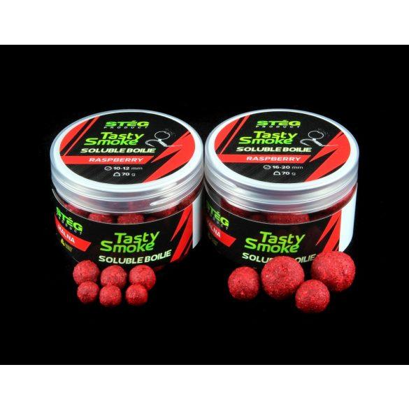 Stég Smoke Soluble Boilie 16-20 mm Raspberry 70 gr