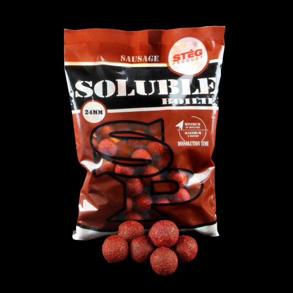 Stég Product Soluble Bojli 24 mm SAUSAGE 1kg