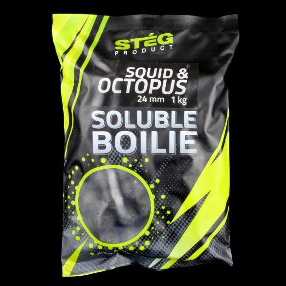 Stég Product Soluble Bojli 24 mm SQUID & OCTOPUS 1kg