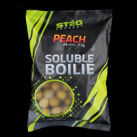Stég Product Soluble Bojli 24 mm PEACH 1kg