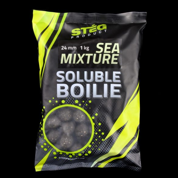 Stég Product Soluble Bojli 24 mm SEA MIXTURE 1kg