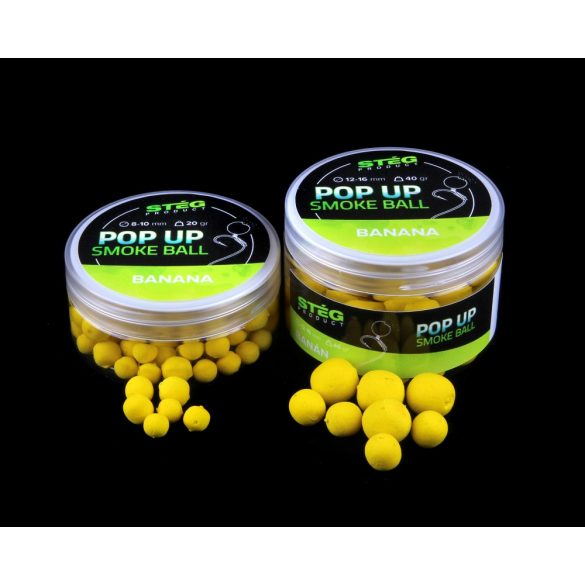 Stég Product Pop Up Smoke Ball 8-10 mm BANANA 20 g