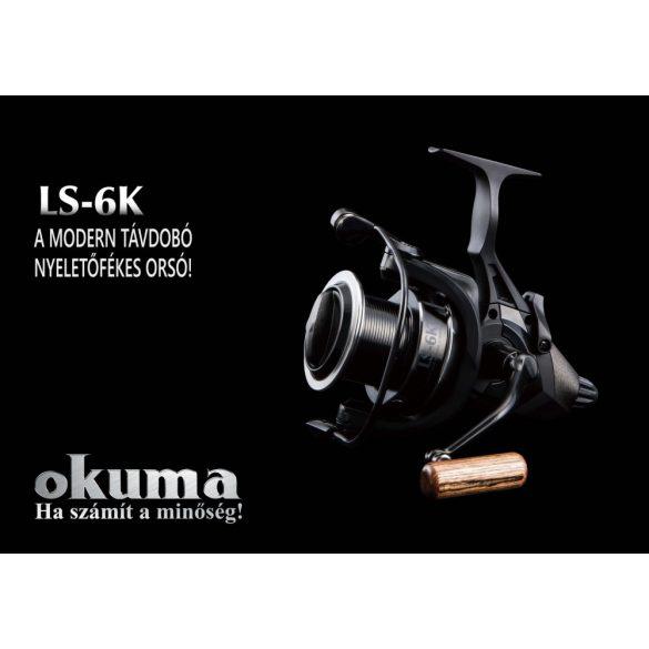 Okuma LS-6K BR nyeletőfékes orsó